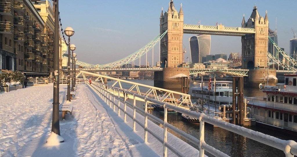 Рождественские каникулы в Великобритании